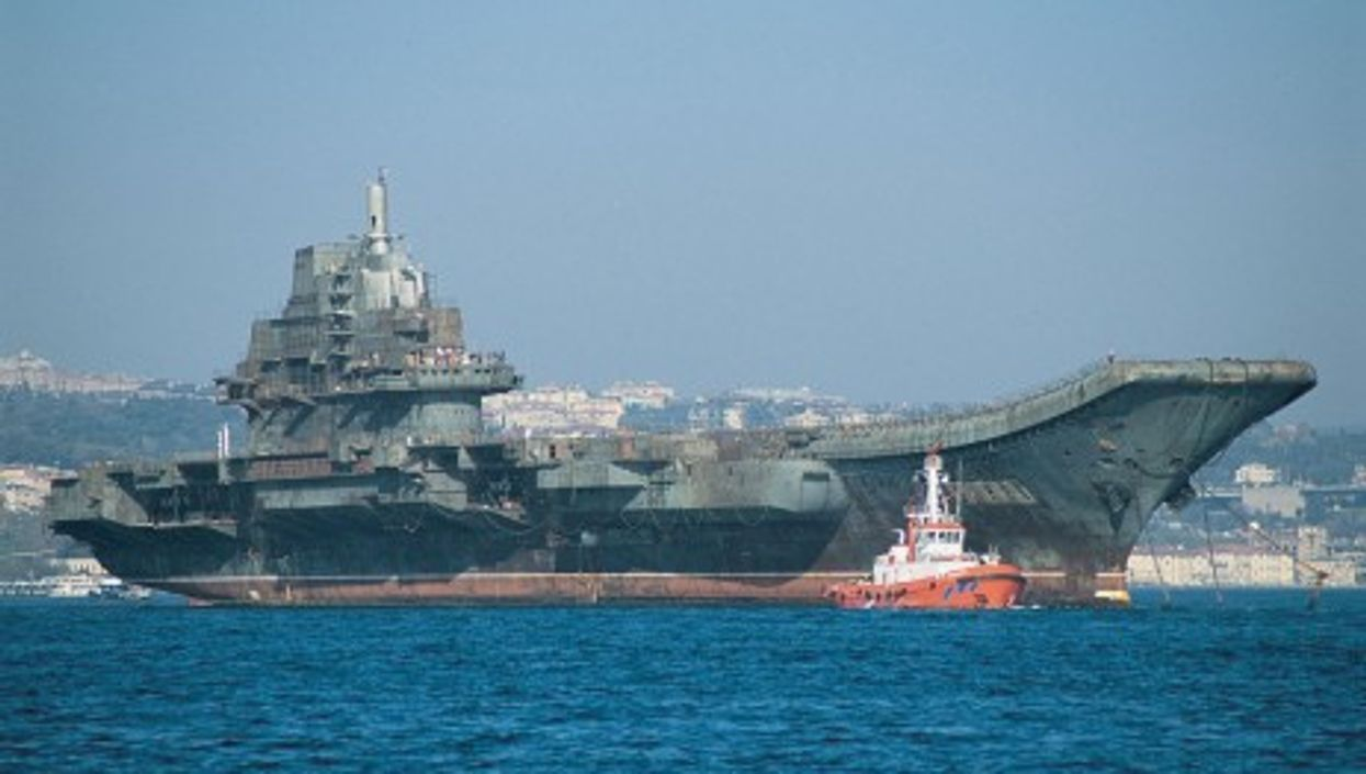Varyag, the first Chinese aircraft carrier