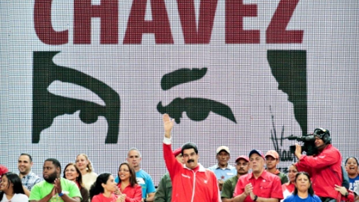Venezuelan President Nicolas Maduro in Caracas on Nov. 30