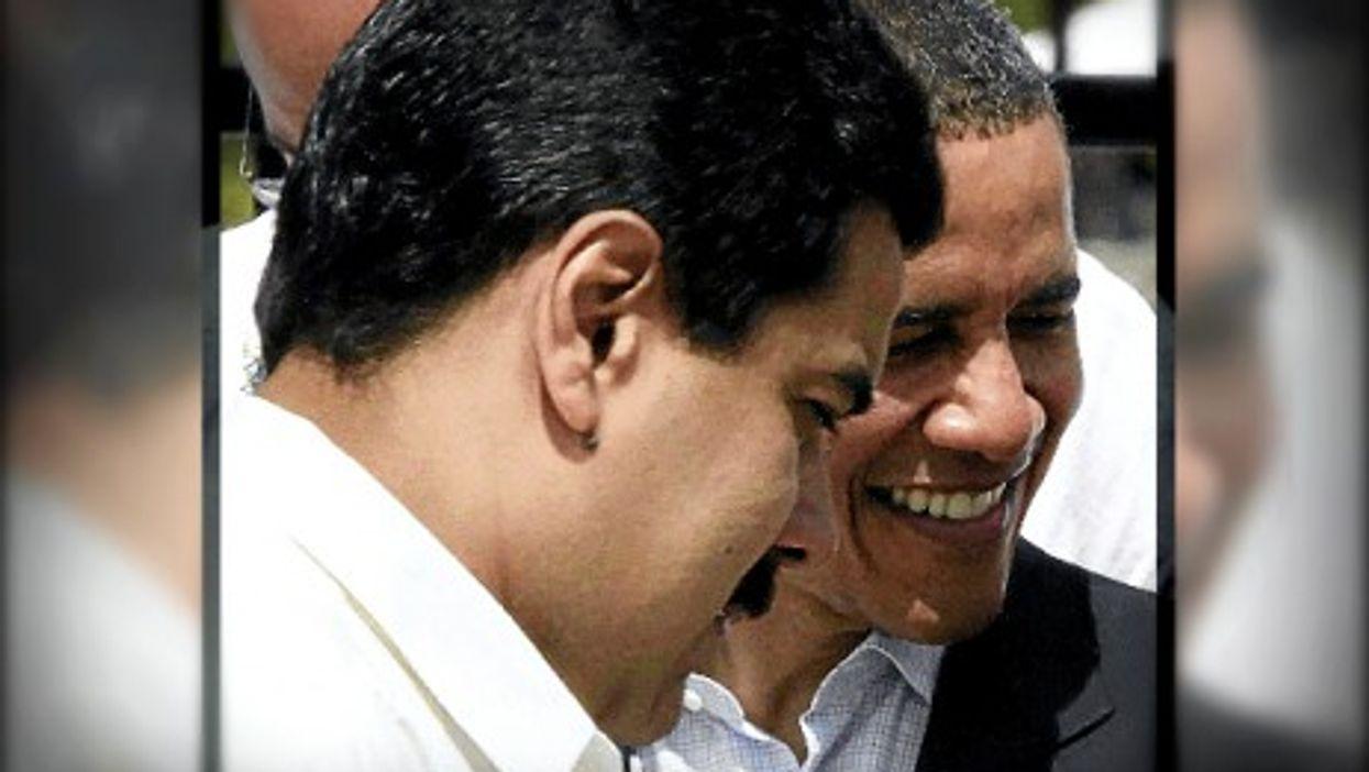 Venezuelan President Nicolas Maduro U.S. President Barack Obama in 2012