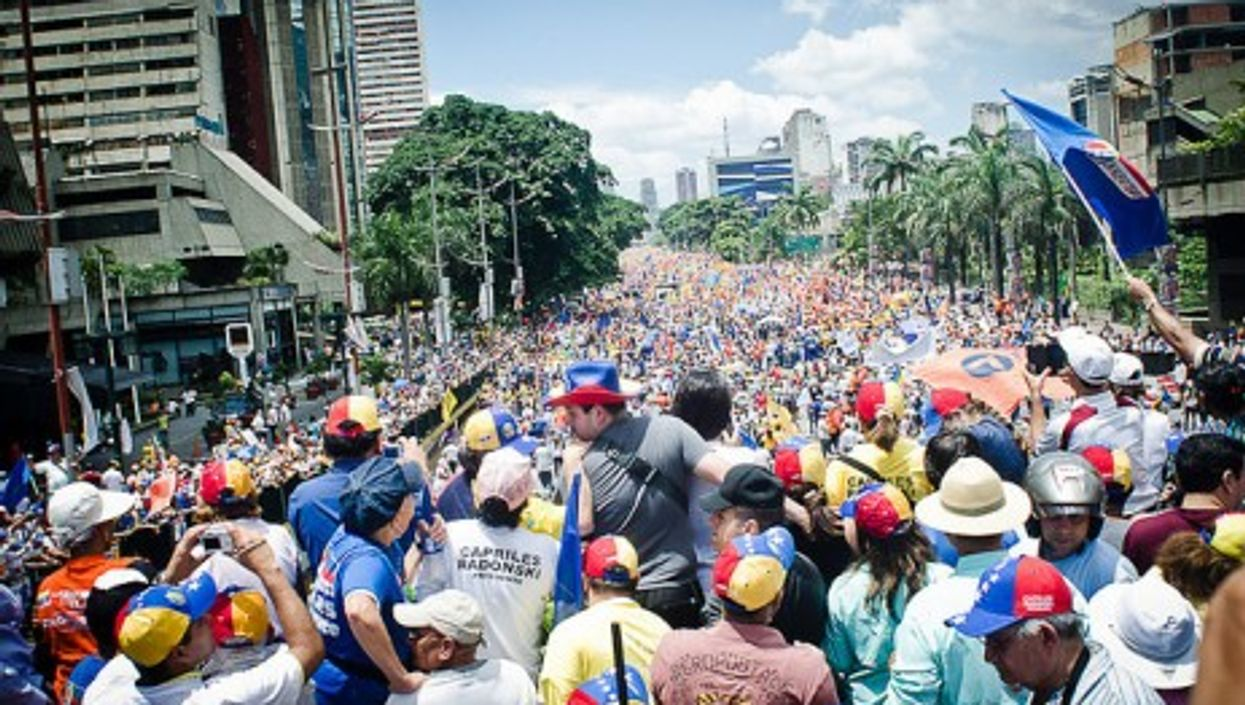 Venezuelan streets spilling over