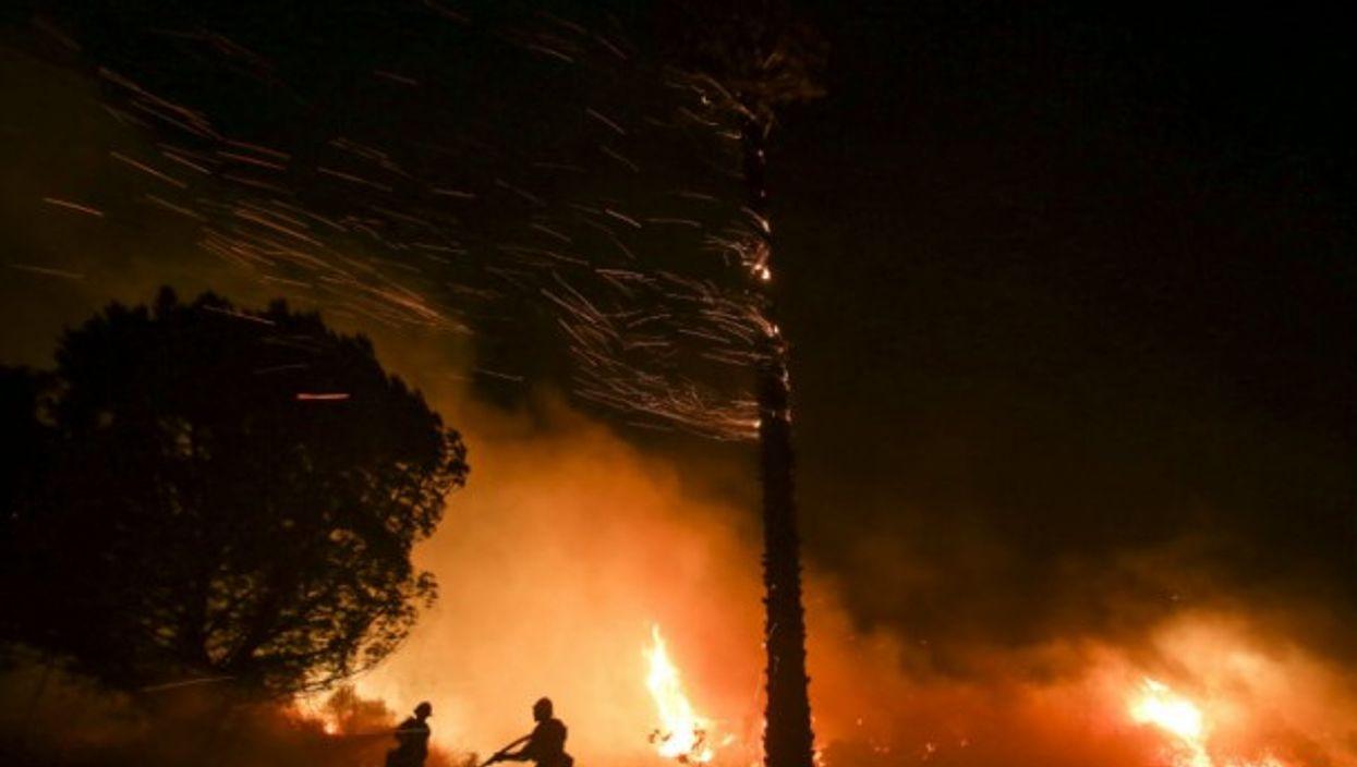 Ventura County, California on fire