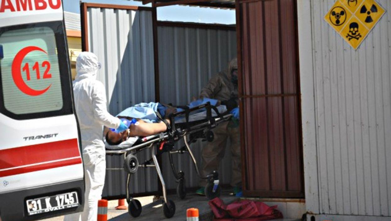 Victim of April 4 chemical attack
