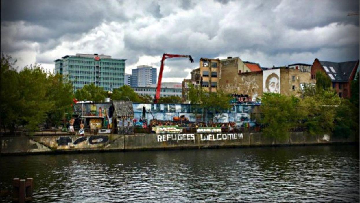 View of the Kreuzberg quarter of Berlin