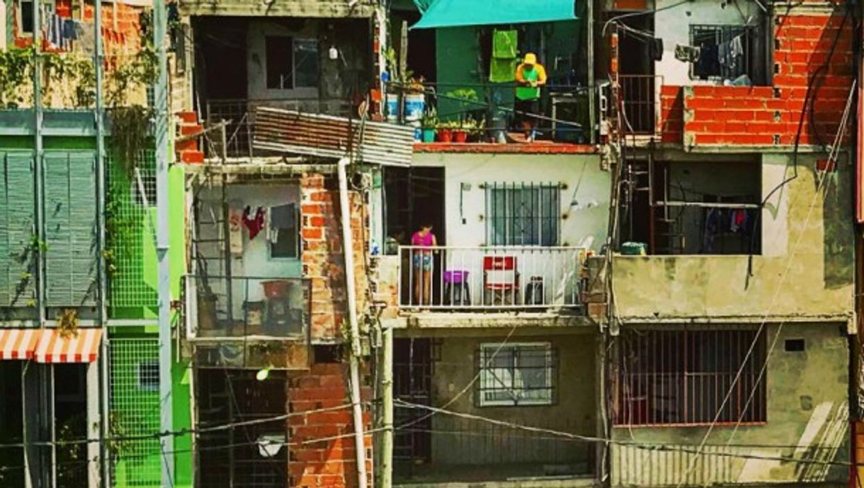 Villa 31 is a poor district of Buenos Aires