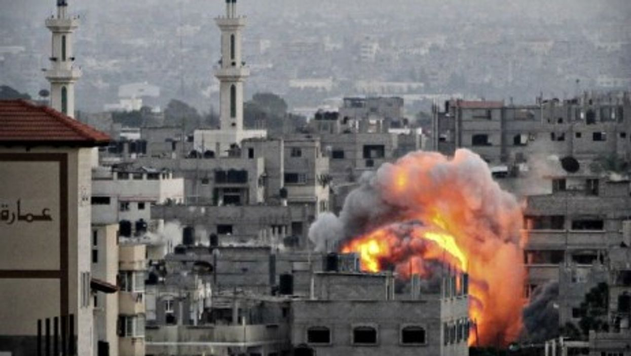 Violence resumed in the Gaza Strip Thursday, two days after the collapse of a 10-day ceasefire.