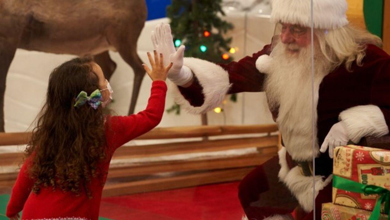 Visiting Santa in the coronavirus-era