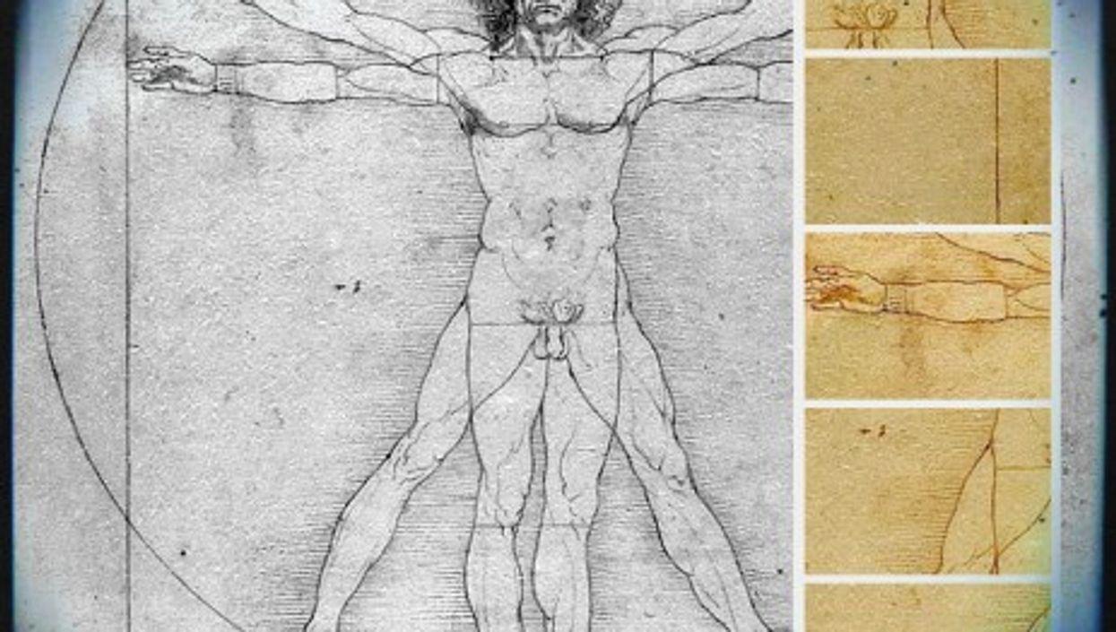 Vitruvian Modern man