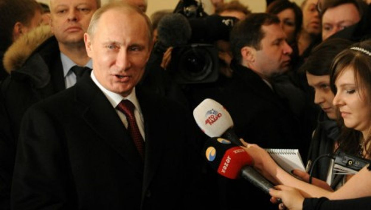 Vladimir Putin, available for questions?