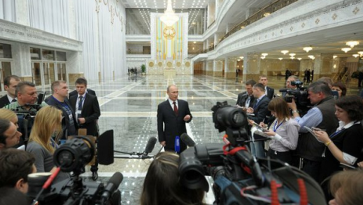 Vladimir Putin will take your questions