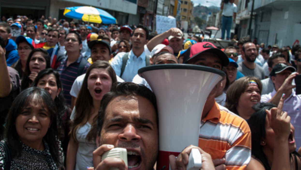 Voices rising from all sides in Venezuela