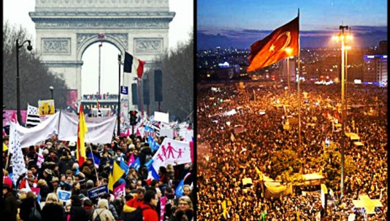 Voices to be heard in Paris and Istanbul