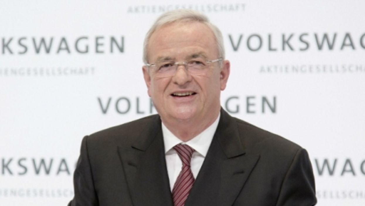 Volkswagen's former CEO Martin Winterkorn