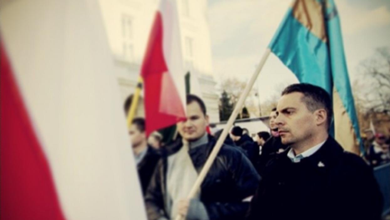 Vona Gabor, leader of Hungary's far-right Jobbik party