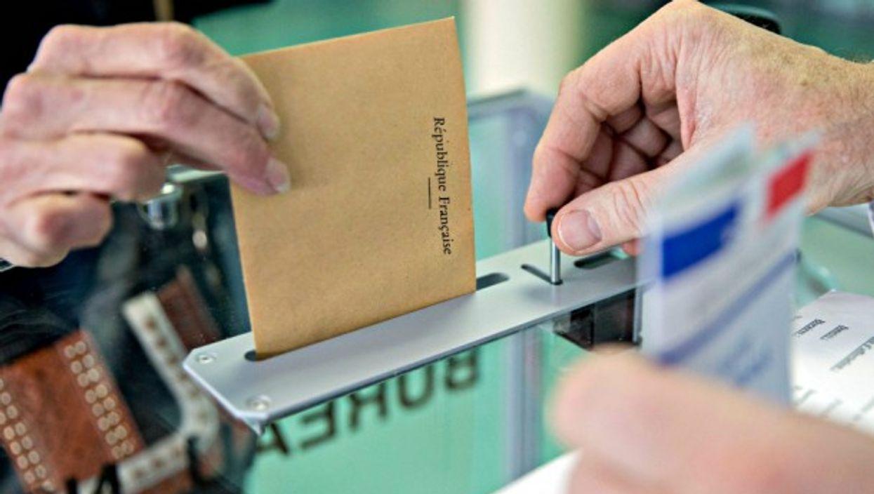 Voting in France on April 23