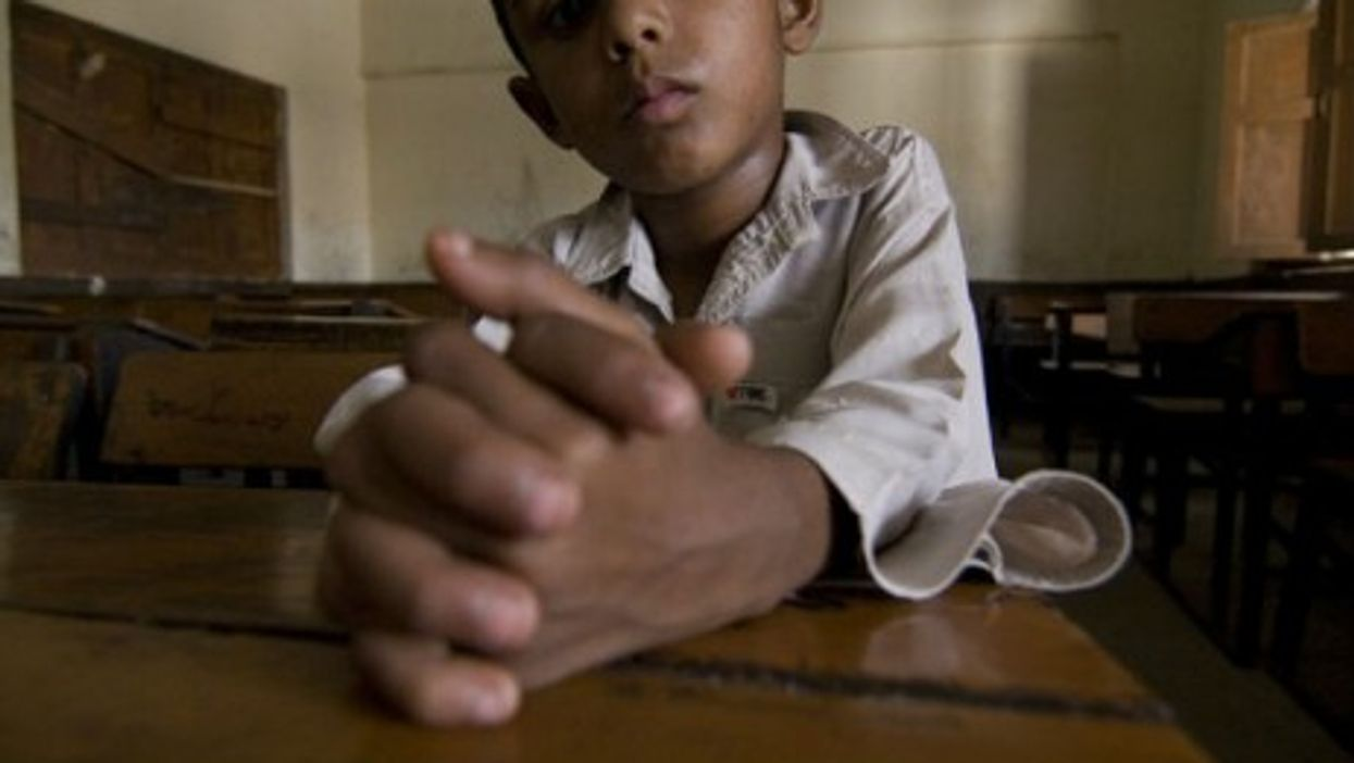 Waiting for teachers to arrive in Pakistan's ghost schools
