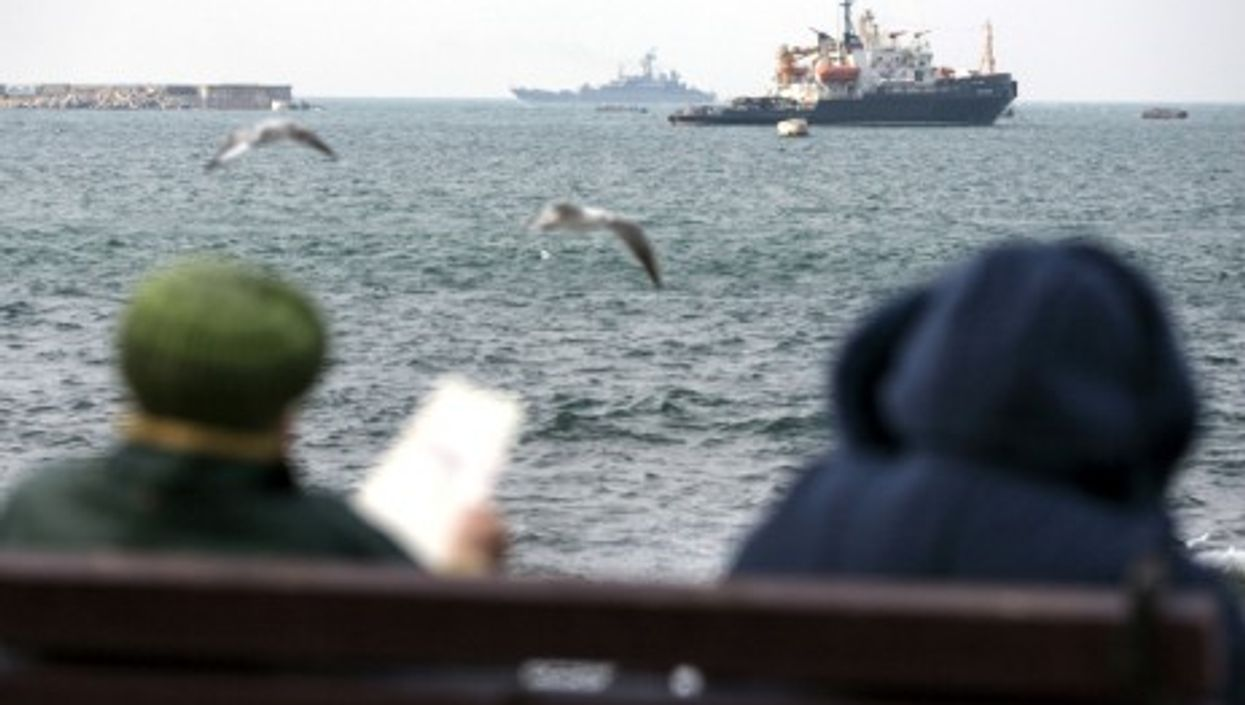 Waiting in Sevastopol, Crimea