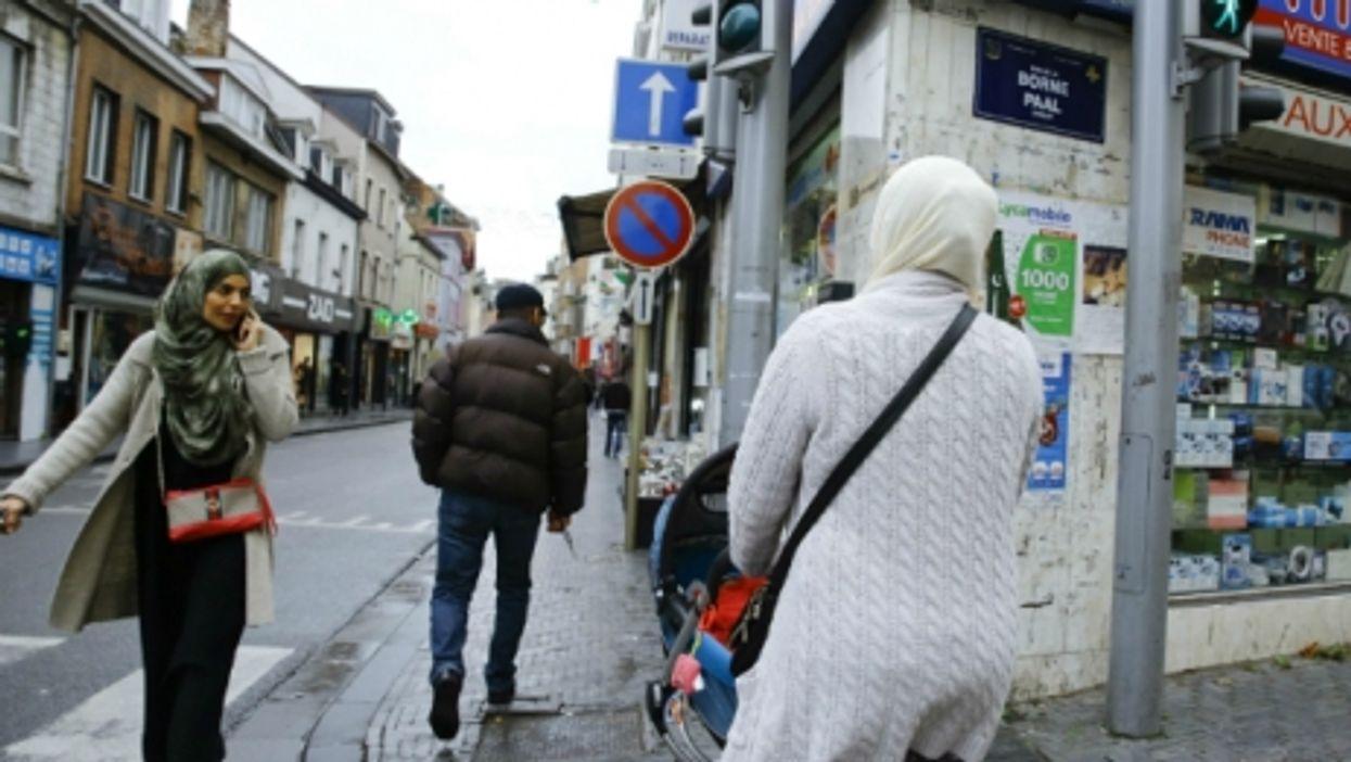 Walking in Molenbeek, Brussels, a neighborhood tied to the Paris and Brussels attacks