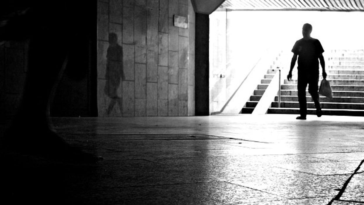 Walking in Warsaw