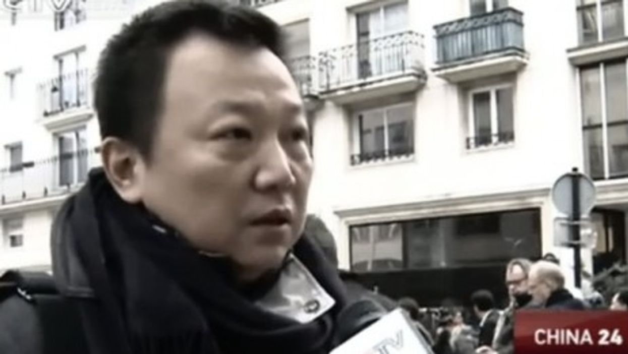 Wang Fanghui's interview with Chinese state television