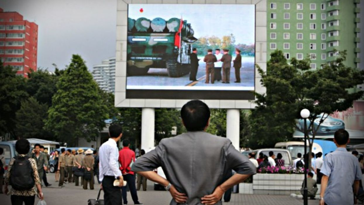 Watching the latest missile news in Pyongyang in June