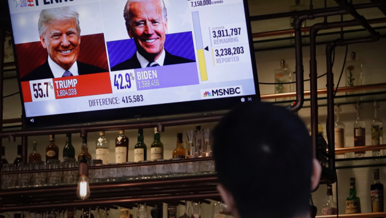 Watching U.S. election results from abroad