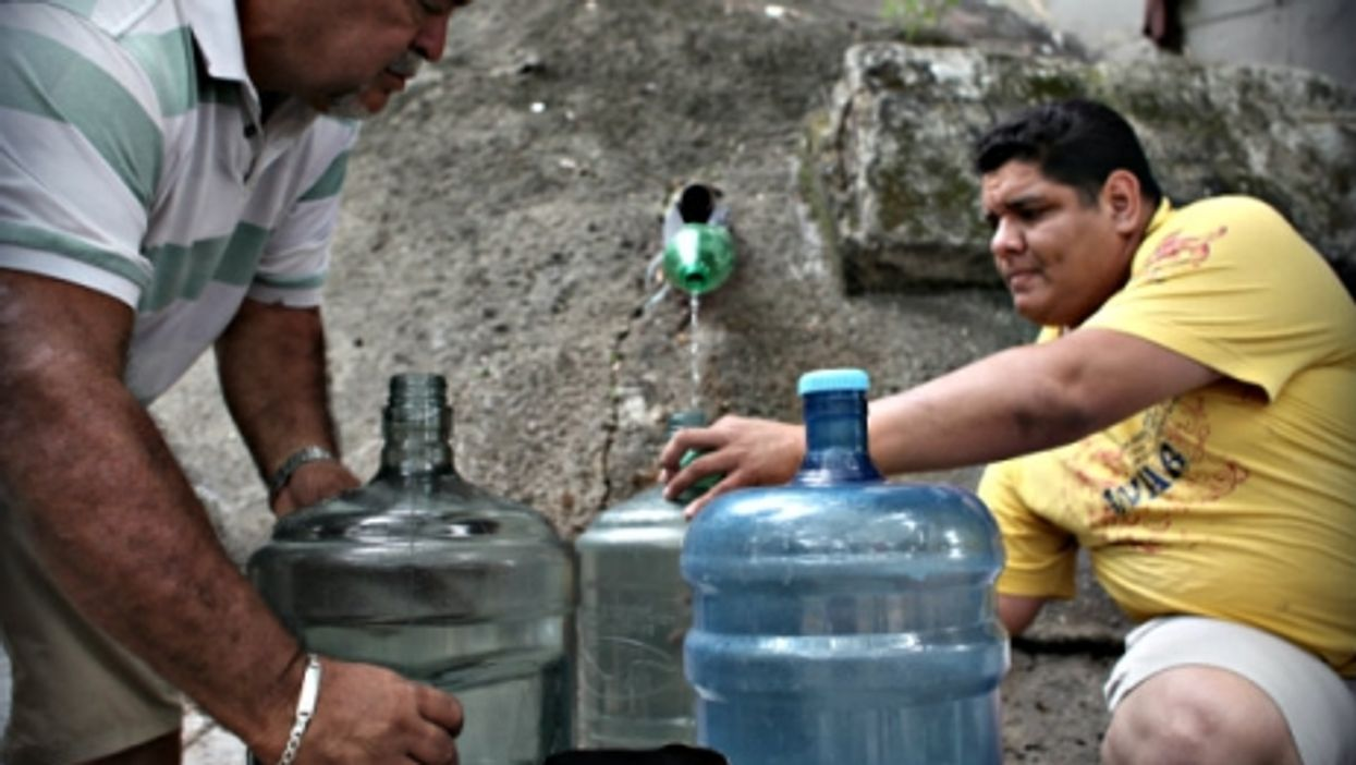Water shortages are just one of many ills that residents face.