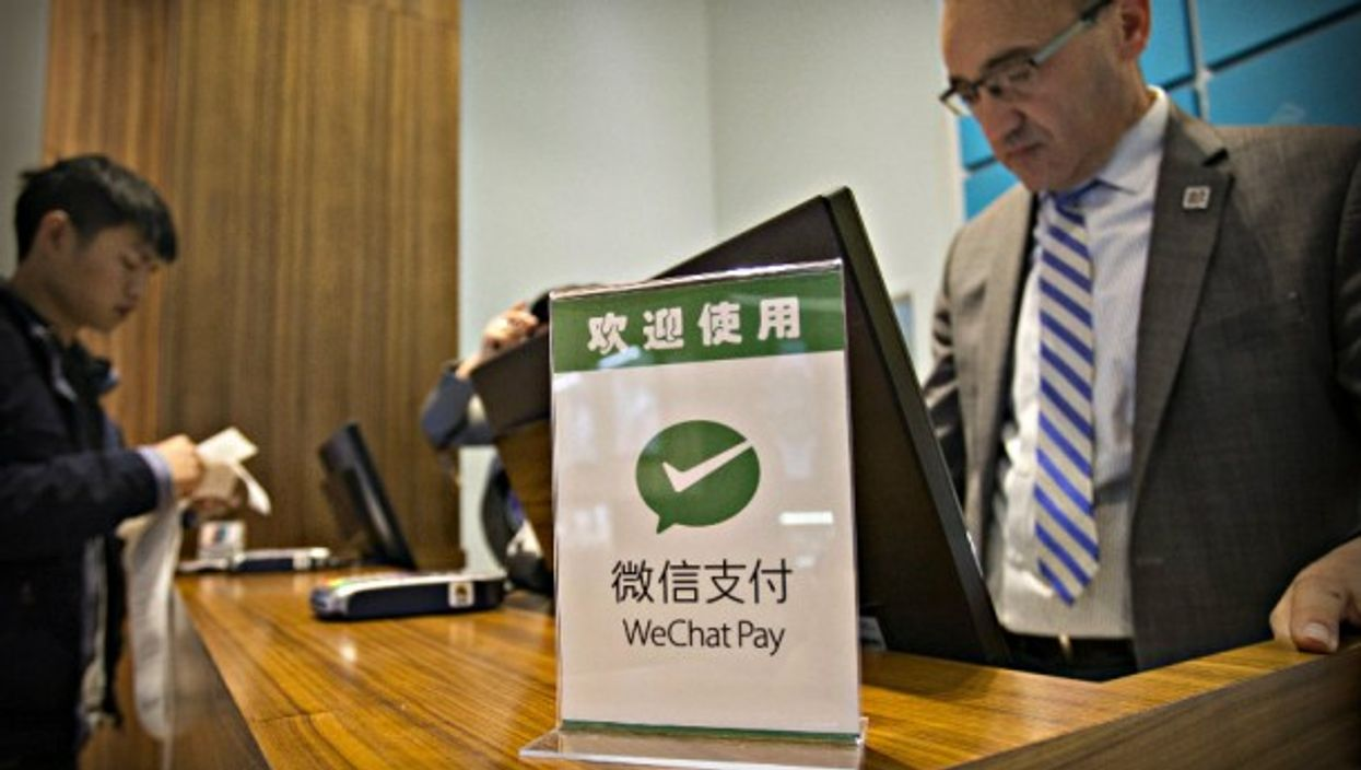 WeChat payment available in Toronto