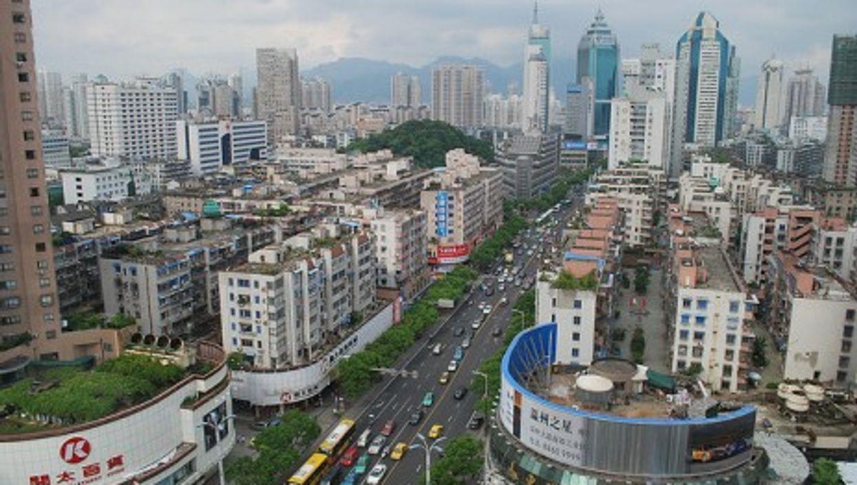 Wenzhou in southeastern Zhejiang province, People's Republic of China