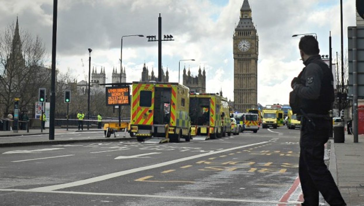 Westminster Bridge after March 22 attack