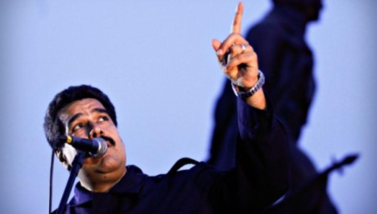 Who is Maduro blaming?