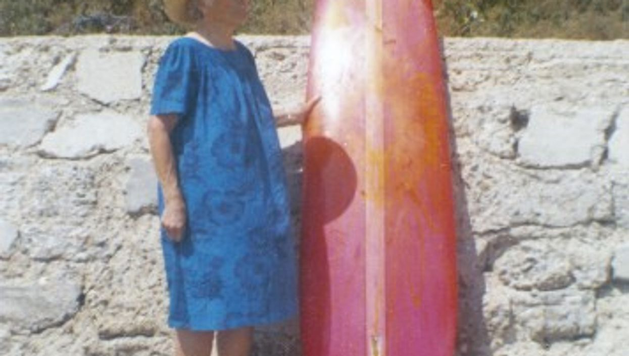 Who's going to inherit the surf board?