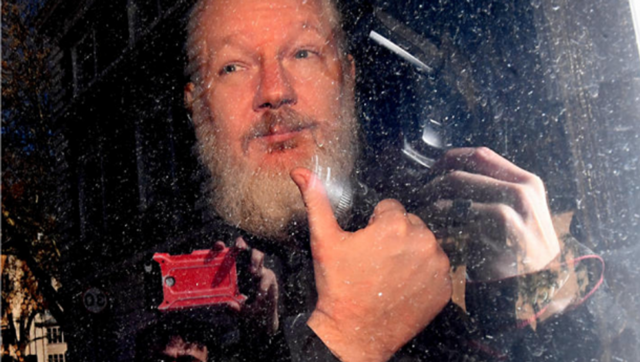 WikiLeaks founder arrested by the Metropolitan Police on April 11