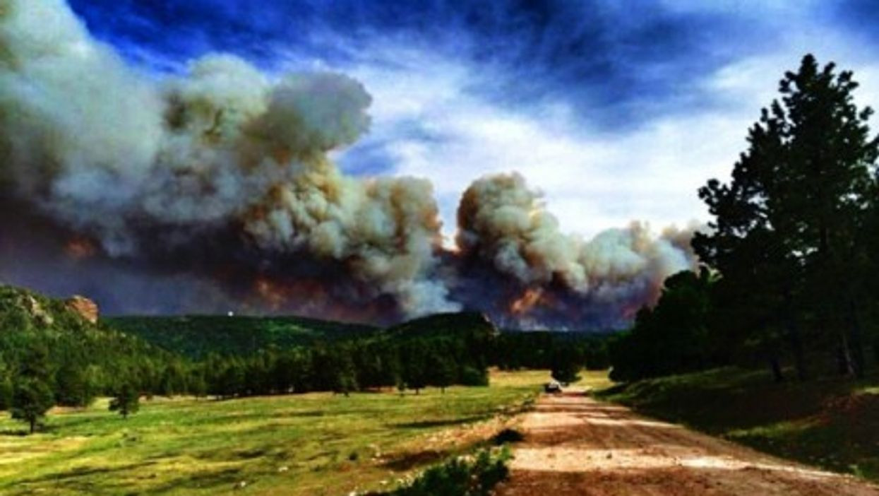 Wilfires in New Mexico.