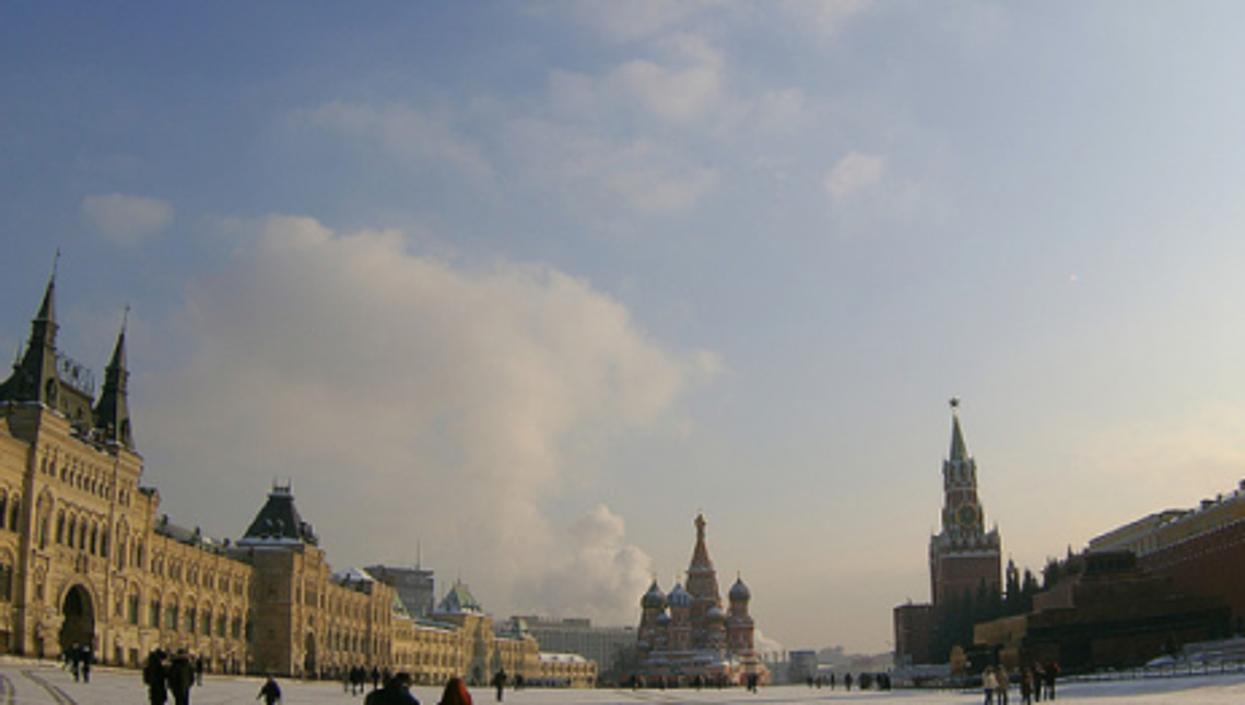 Winter in Red Square (Adam Baker)