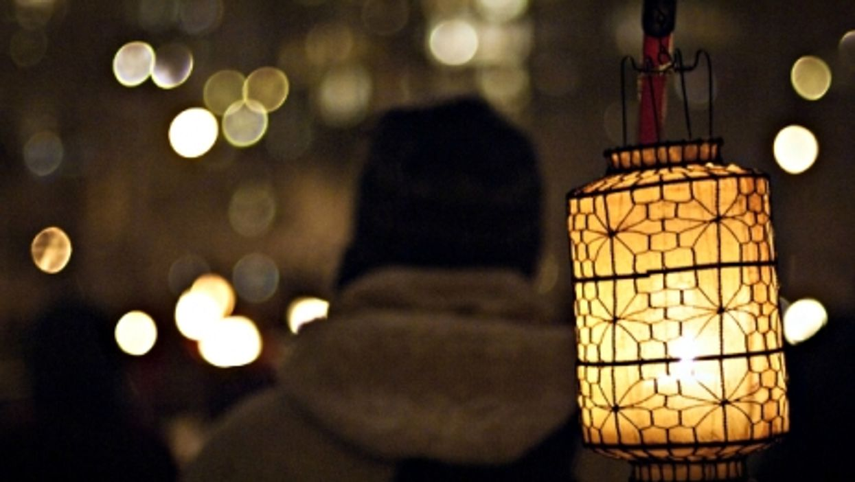 Winter Solstice lantern festival in Vancouver, Canada