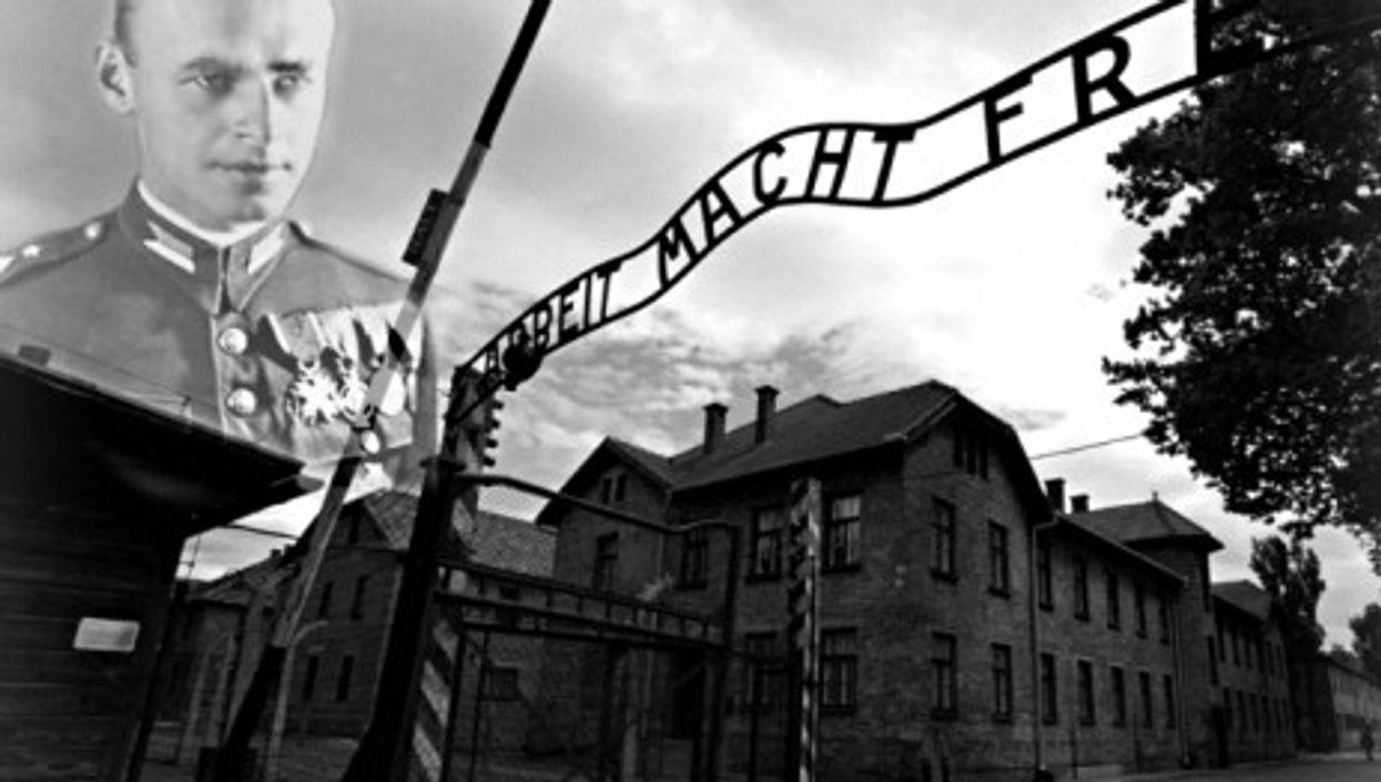 Witold Pilecki was imprisoned in Auschwitz for 945 days