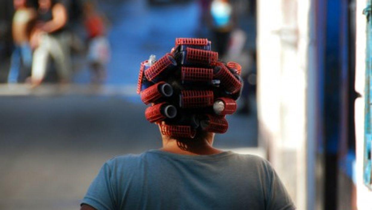 Woman in the center of Havana