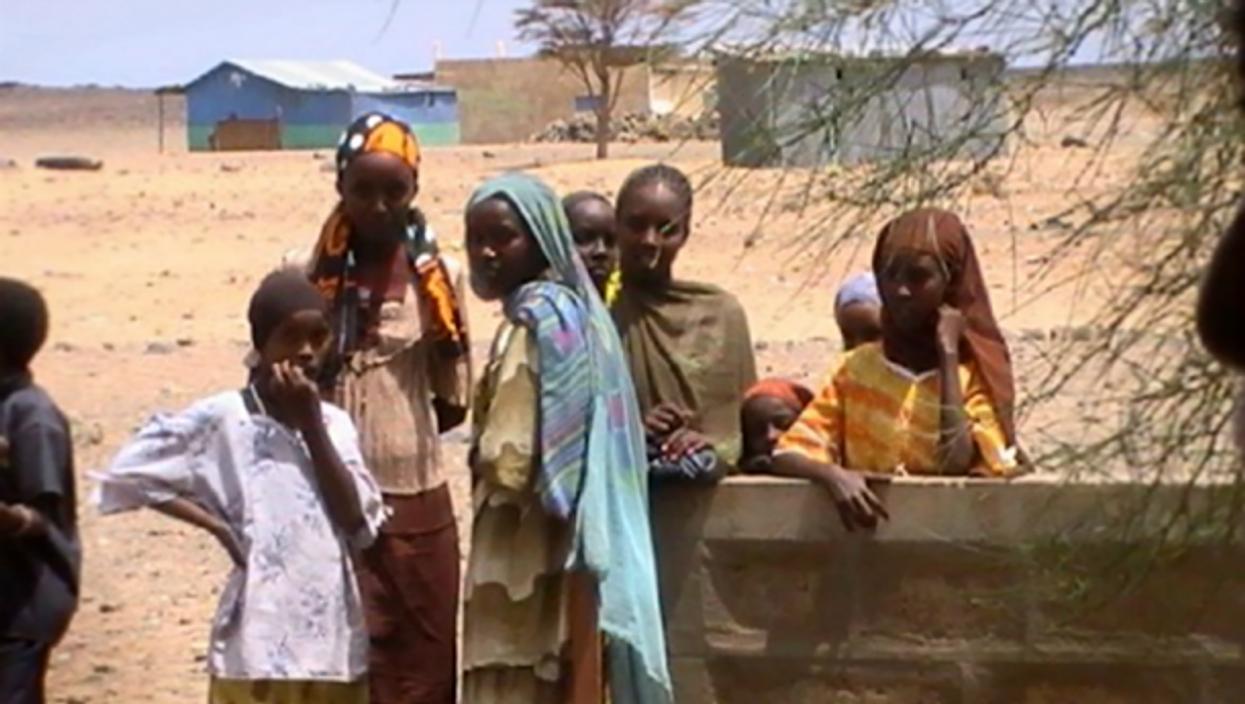 Women in Bubisa, Kenya