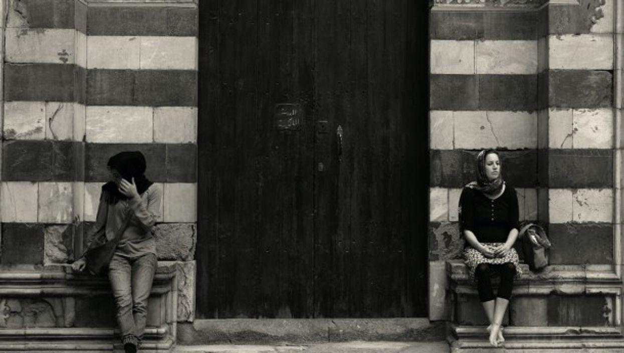 Women in Cairo, Egypt