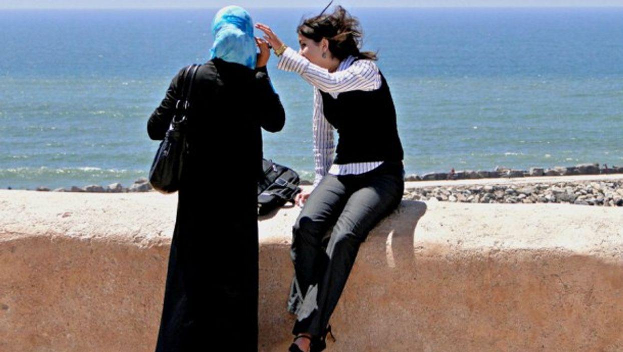 Women in Rabat, Morroco