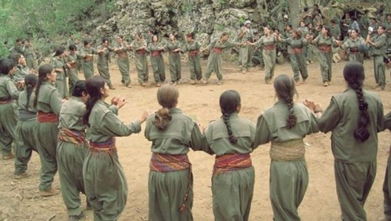 Women in the Kurdistan Workers Party, also known as the PKK