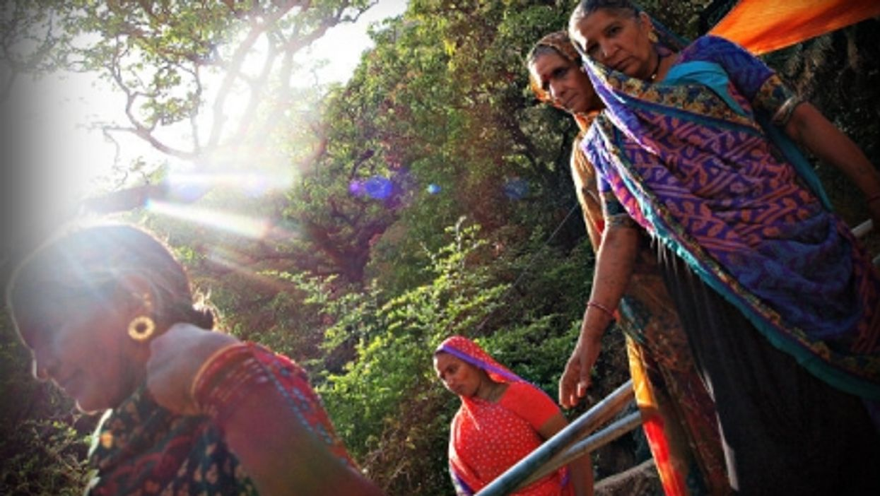 Women pilgrims at Mount Abu