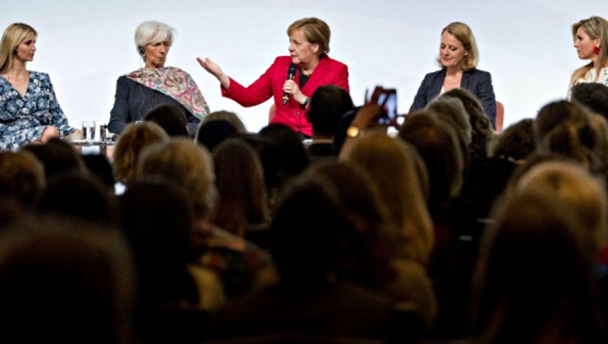 Women20 summit in Berlin on April 25