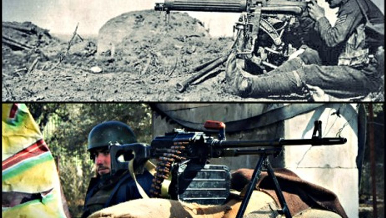 WWI, Syrian war ... spot the differences
