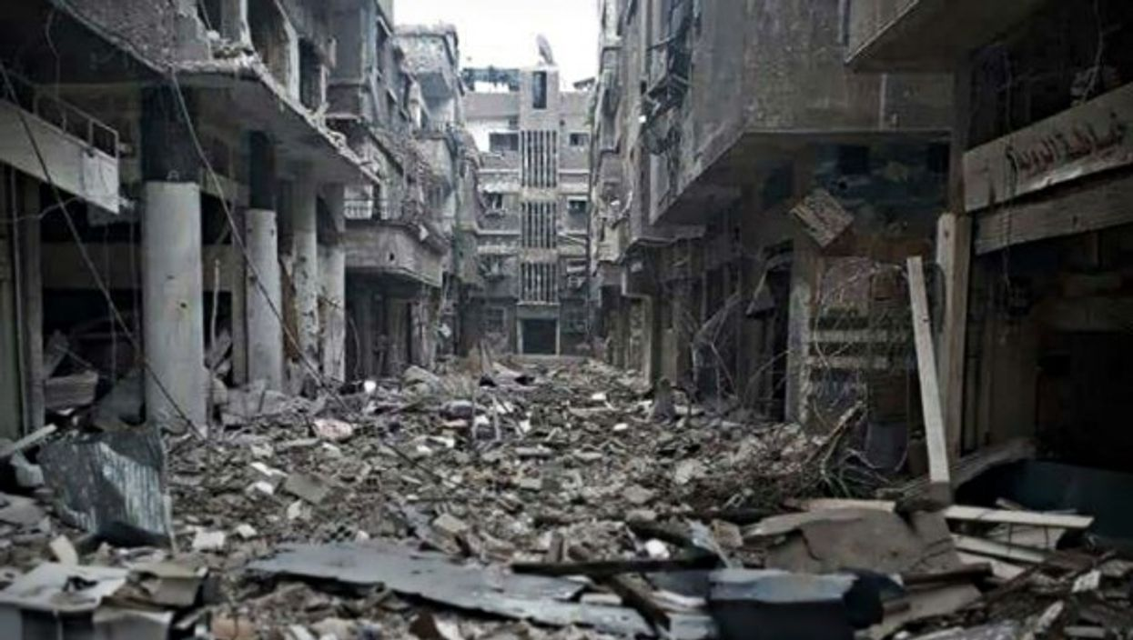 Yarmouk on April 24