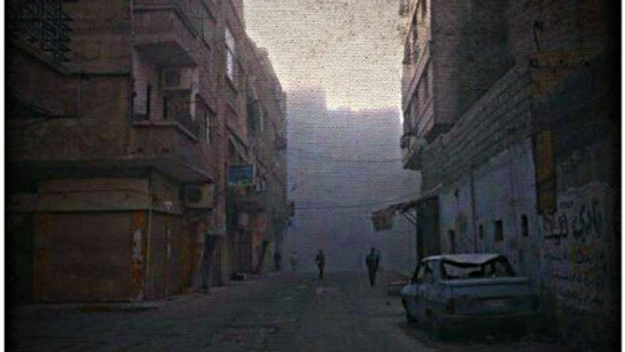 Yarmouk refugee camp, home to the largest Palestinian refugee community in Syria