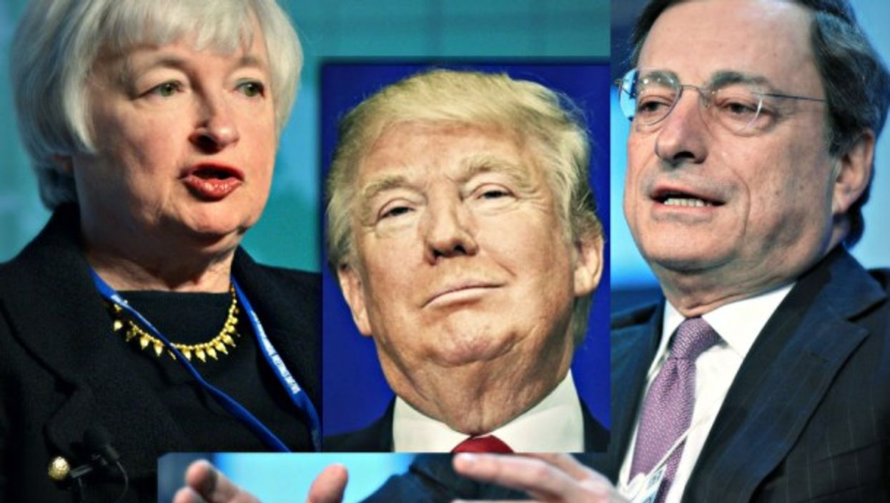 Yellen, Trump, Draghi