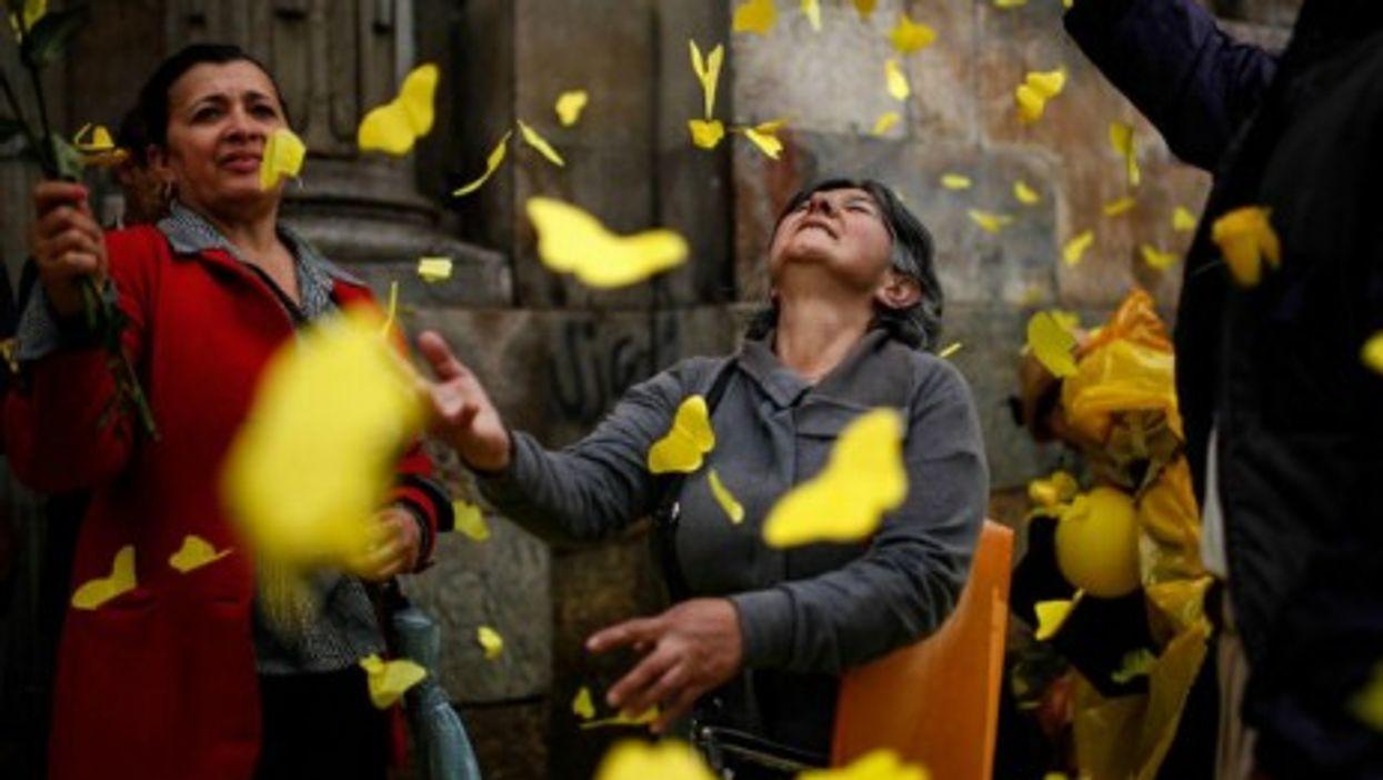 Yellow butterflies to bid adieu to Gabriel Garcia Marquez