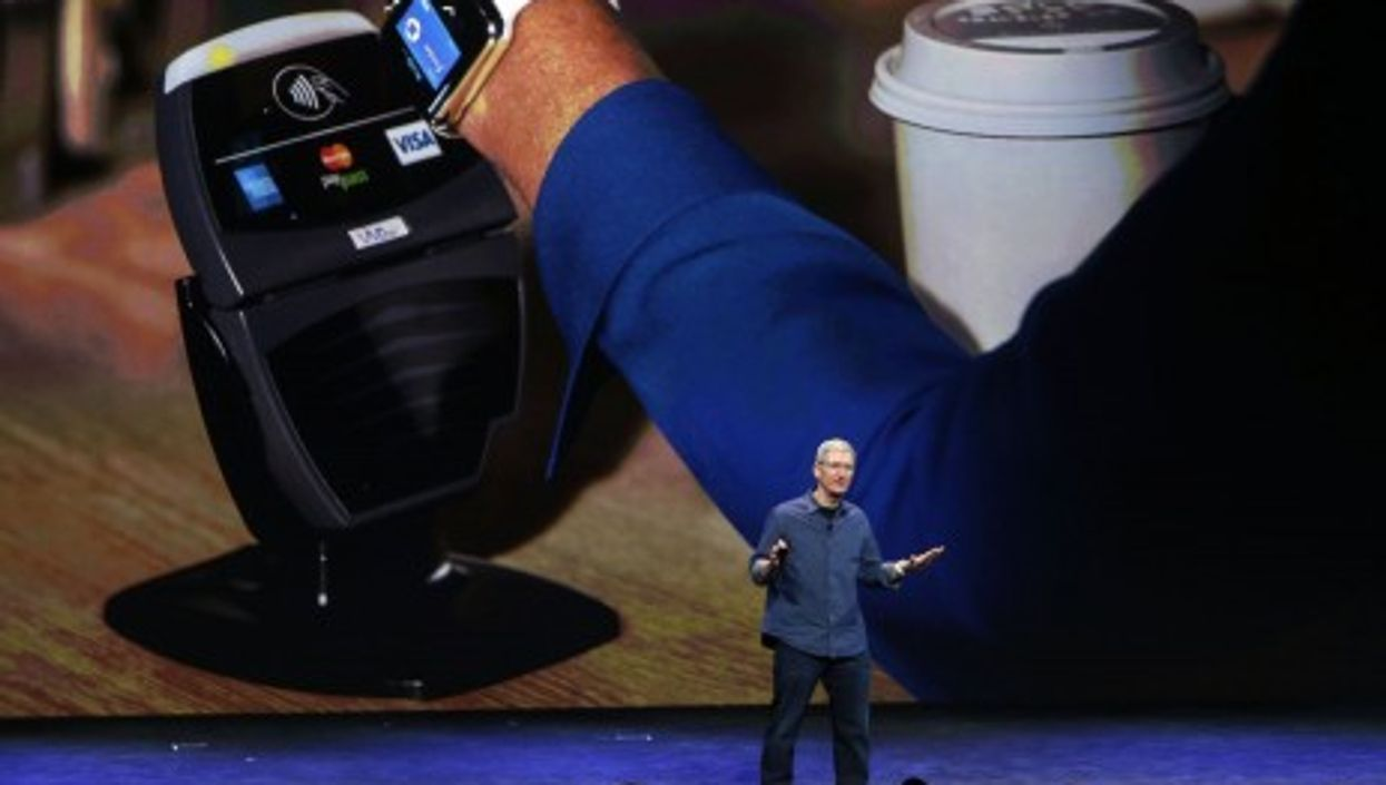 You can also use the Apple Watch to pay