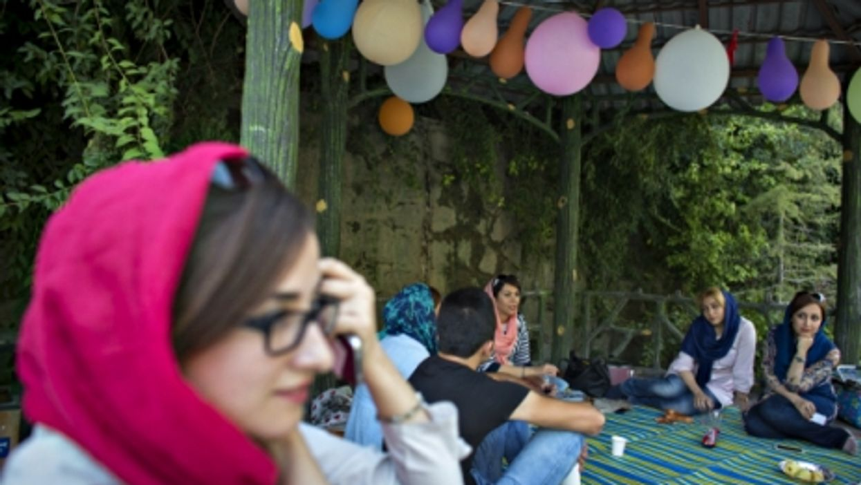 Young Iranians in Nahjul Balagha